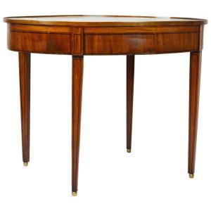 Georgian Satinwood Oval Table