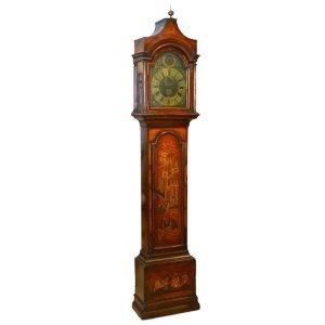 English Chinoiserie Clock
