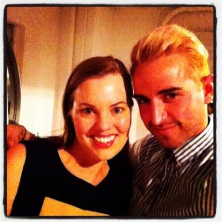 Dagmar Bleasdale and ColbyMakeup