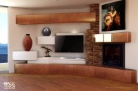 Add The Natural Style Of Stone To Your Home Entertainment ...