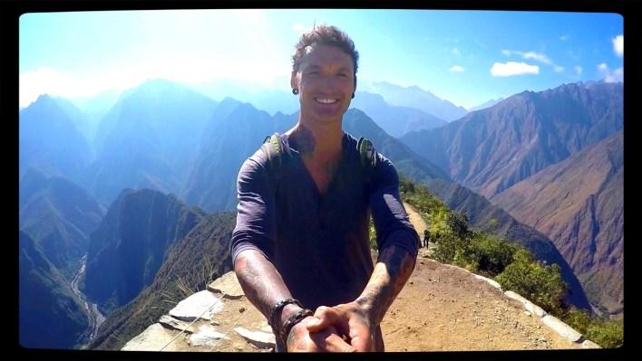 Peru, inca, ruins, machu picchu, motorcycle peru, cusco, mountains, hiking, adventure, wanderlust, dagsvstheworld, rtw, travel, sacred valley, dirtbike, adventurebike, incan ruins, mountains, twistys, montana picchu mountain