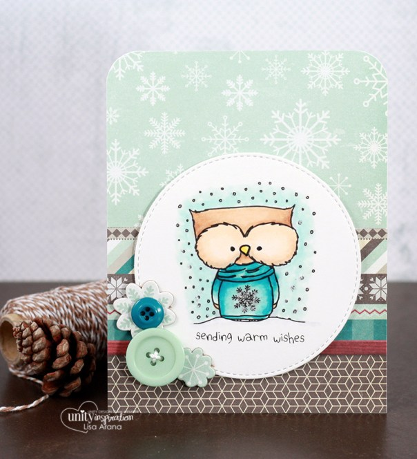 dahlhouse designs | 11.2015 warm wishes owlie