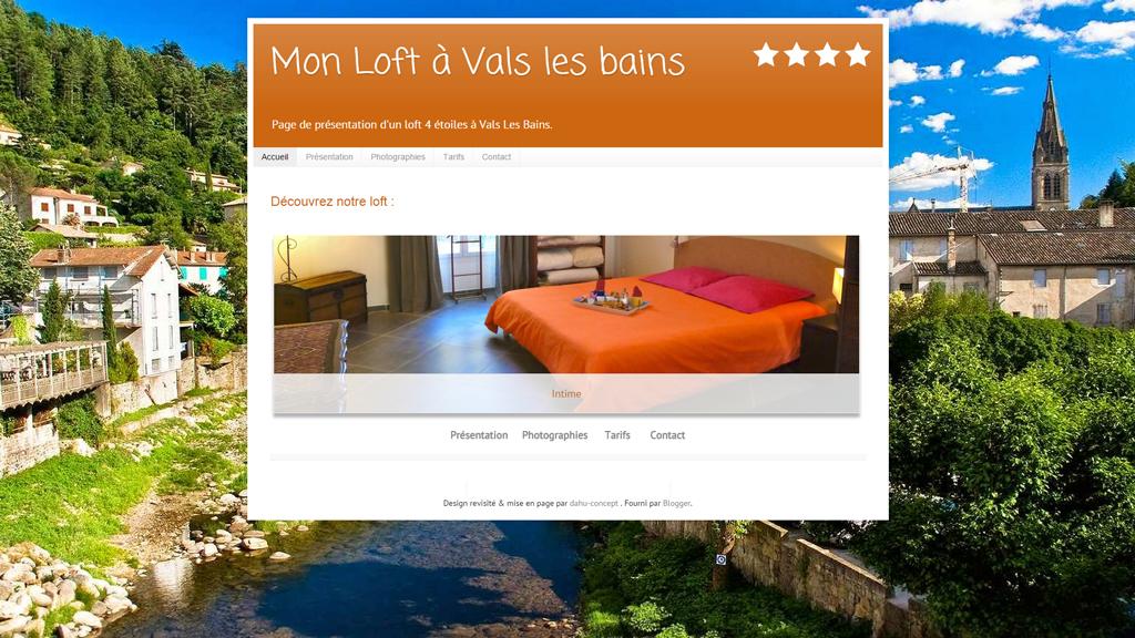Les quincocnes, loft, Valls les bains, location