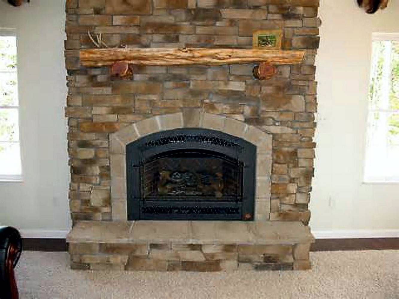 Installing Cultured Stone Fireplace Veneer Stone Synthetic Rock Manufactured Stone Cultured