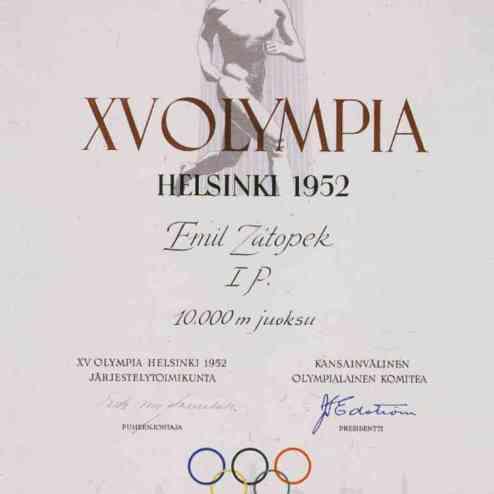 1952-olympic-winner-diploma