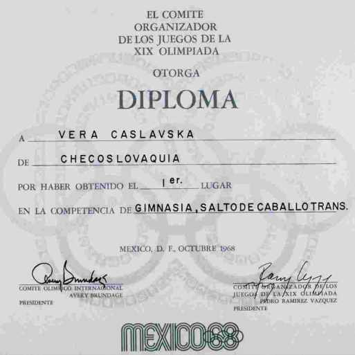 1968-olympic-winner-diploma