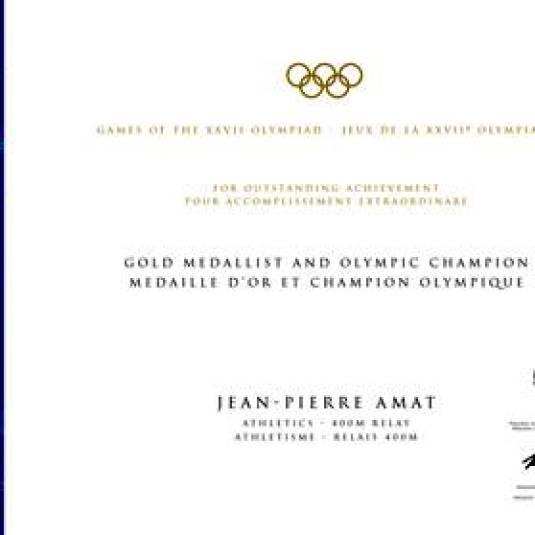 2000-olympic-winner-diploma