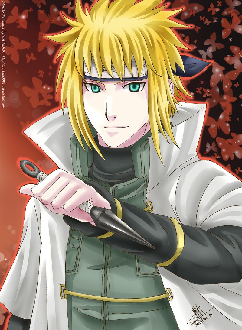 Bleach Wallpaper Hd Minato Namikaze 4th Hokage Daily Anime Art
