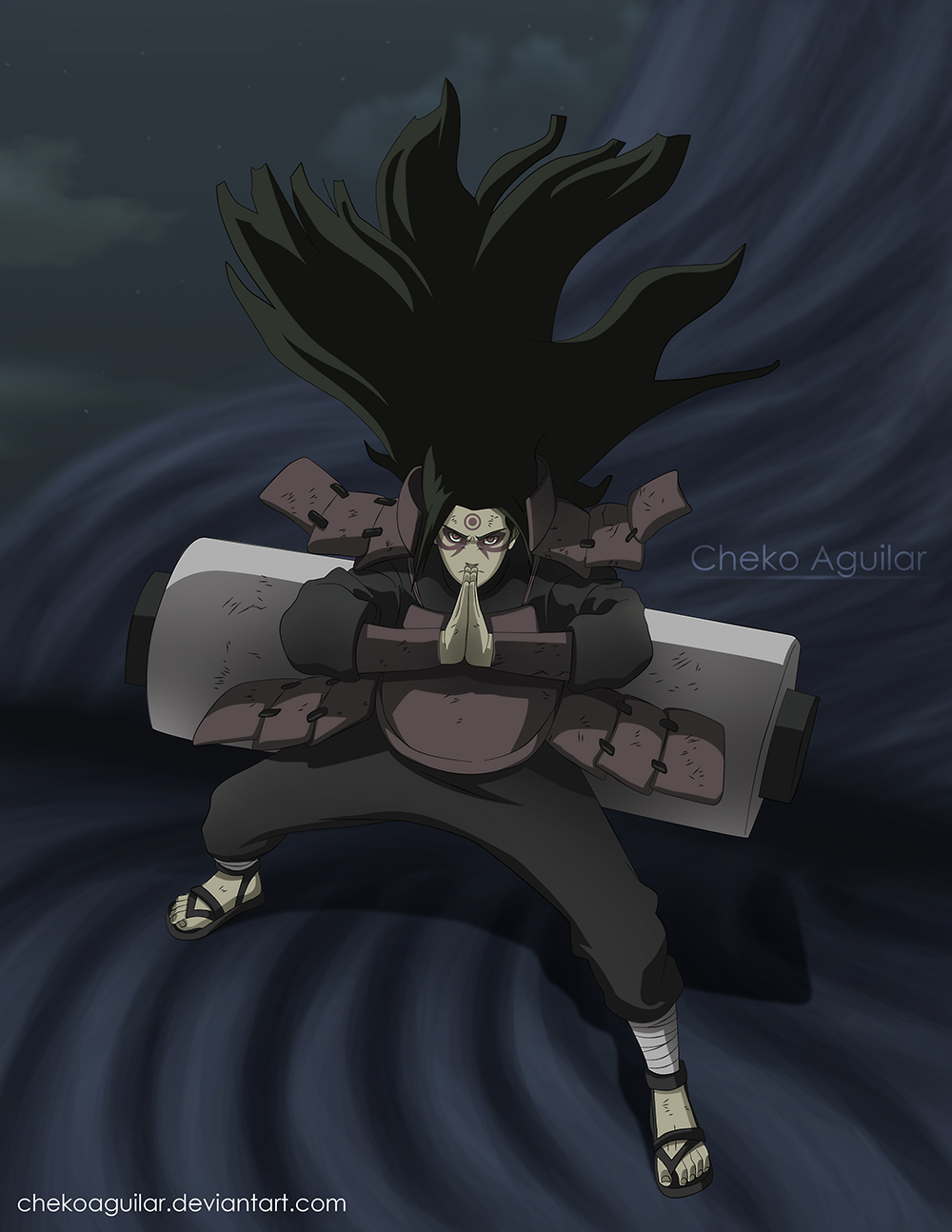 Iphone Built In Wallpapers Madara Vs Hashirama Continues Their First Contact