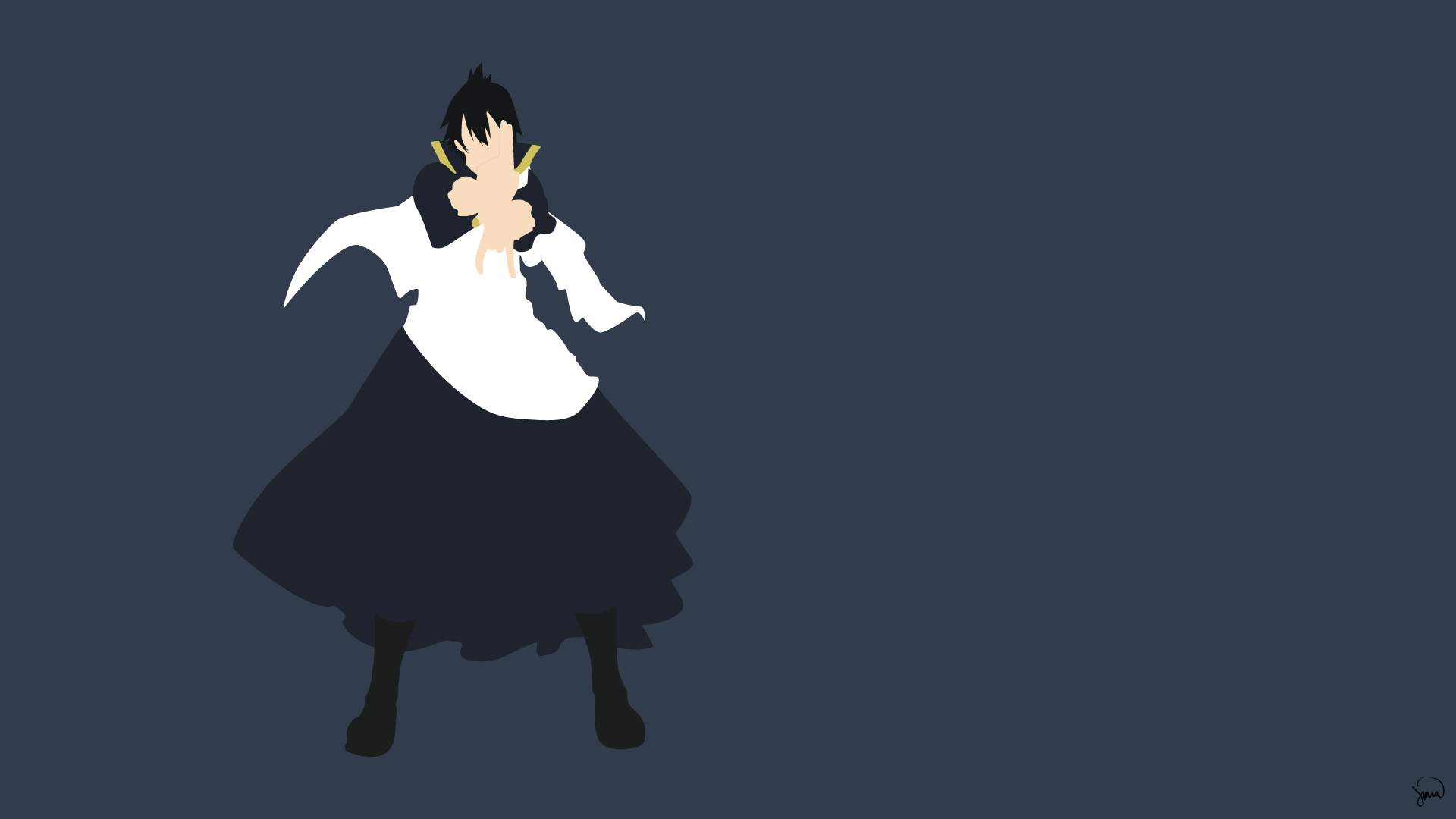 Fullmetal Alchemist Wallpaper Quotes Zeref Dragneel Fairy Tail Minimalistic Wallpaper By