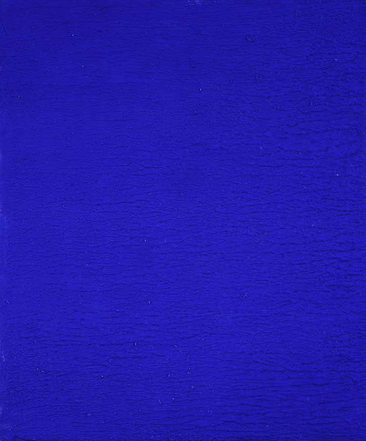 Nude Farbe Yves Klein: 1928 - 1962 – Daily Art Fixx