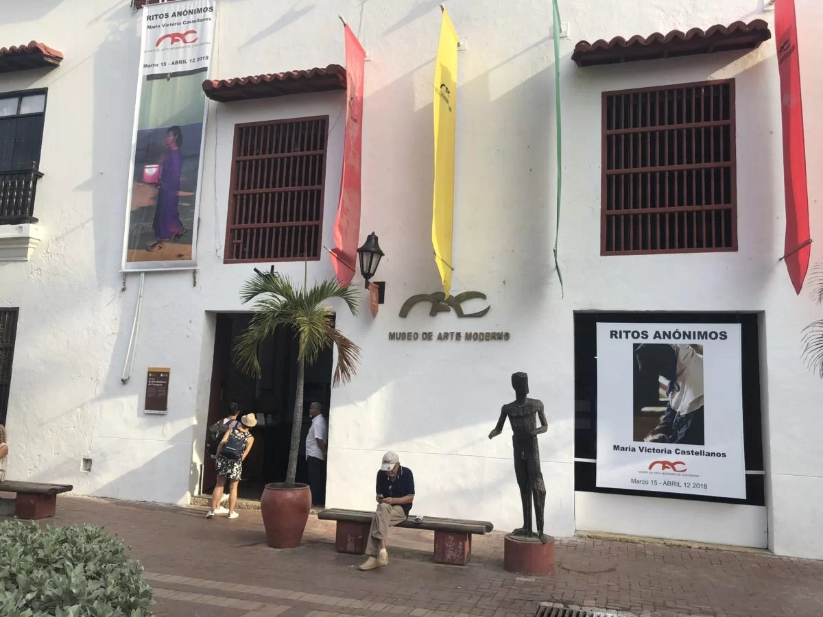 Arte Colombiano Moderno The Ups And Downs Of The Museo De Arte Moderno In Cartagena