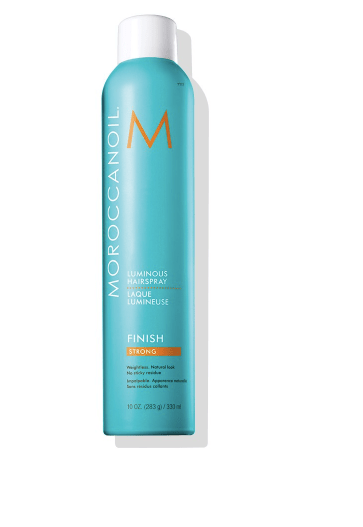 Moroccanoil® Luminous Hairspray Strong Hold. Photo from Moroccanoil® website.
