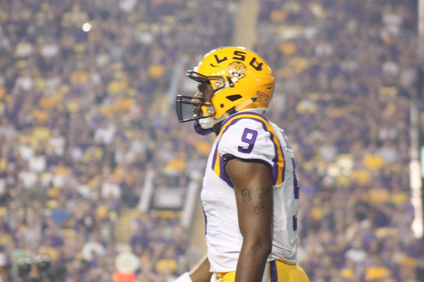 LSU wr Diarse taking a breathier