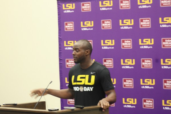 Cryil Grayson at LSU NFL PRO DAY 2017