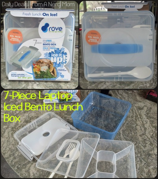 7-Piece Laptop Iced Bento Lunch Box
