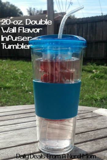 20-Ounce Double Wall Flavor Infuser Tumbler
