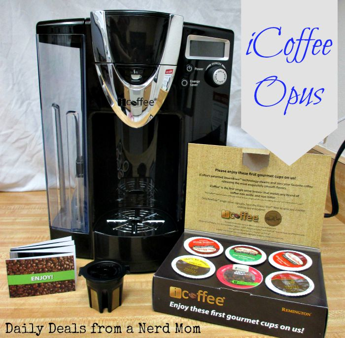 iCoffee Opus Single Serve Coffee Brewer