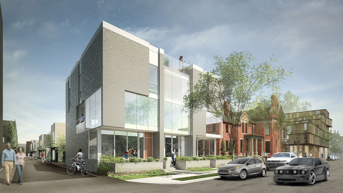 Hunter Pasture Homes Buyers Are Snapping Up The New City Modern Development In Brush Park
