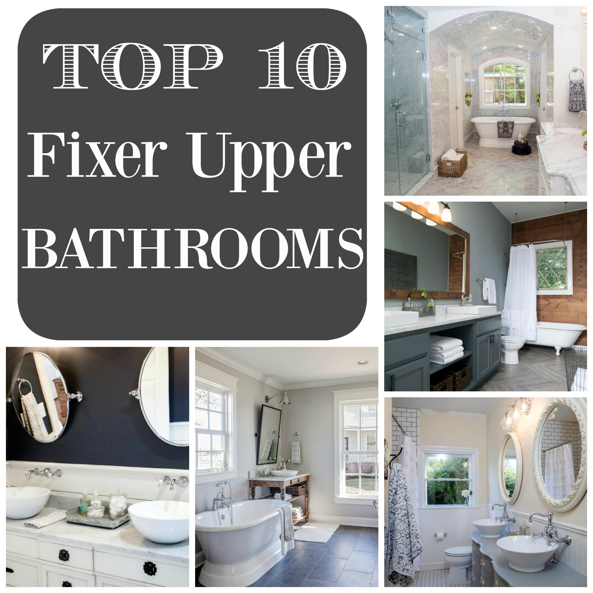 Fixer Upper Craft Room Top 10 Fixer Upper Bathrooms Daily Dose Of Style