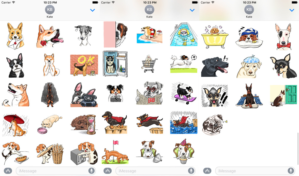 Cute Stickers For Facebook The Best Free Imessage Sticker Packs For Ios 10
