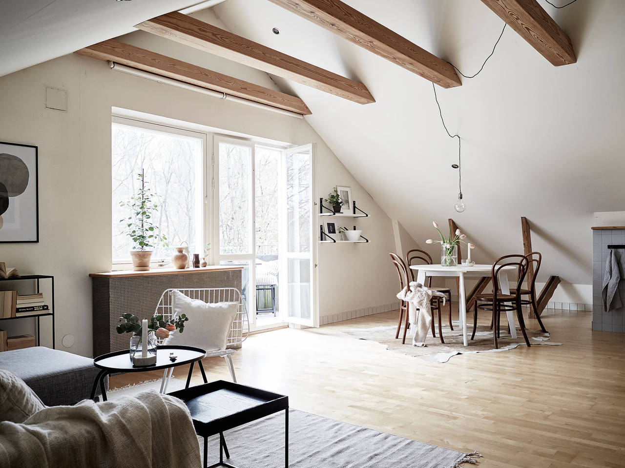 Art Studio Decor Dreamy Attic Studio To Kick Start The Week Daily Dream Decor