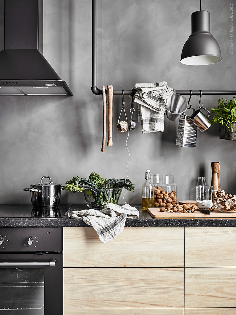 Ikea Kitchens 2017 A Cool Scandi Ikea Kitchen Daily Dream Decor