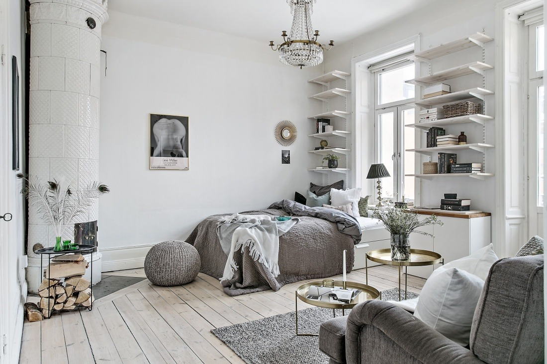 Studio Appartement Dreamy Scandinavian Studio Apartment Daily Dream Decor