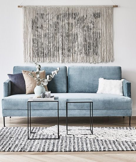 Sofa Hellblau 9 Light Blue Velvet Furniture Pieces That Will Make You