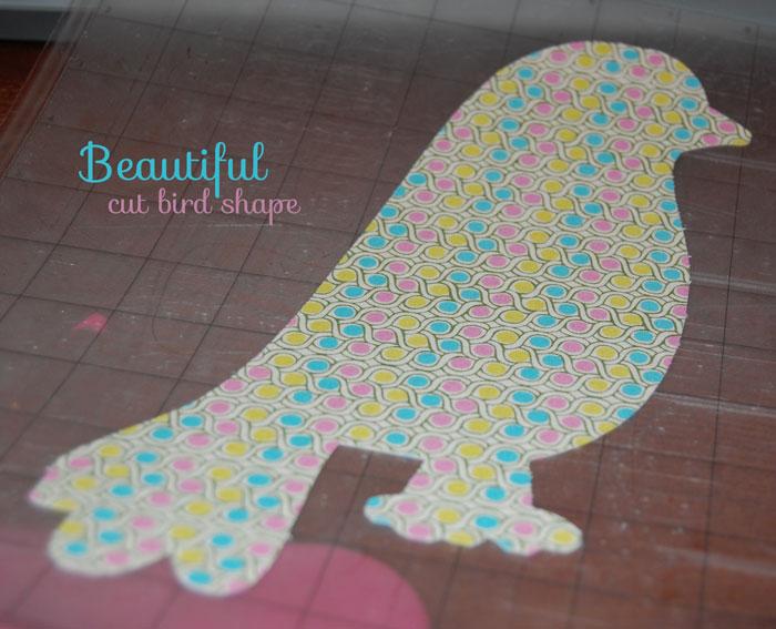 cut-bird-shape