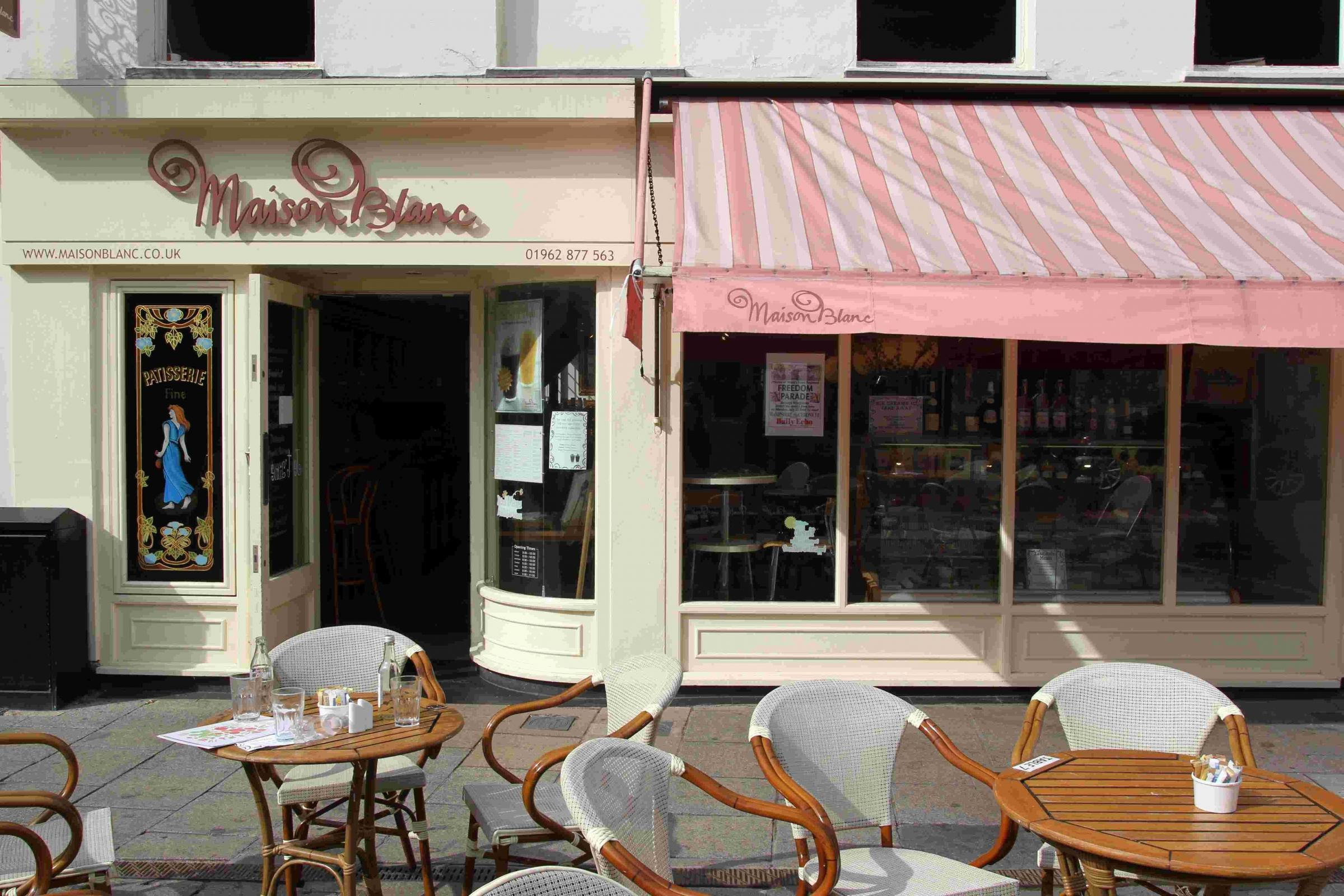 Maison Valerie Patisserie Valerie Opening Where Maison Blanc Used To Be In