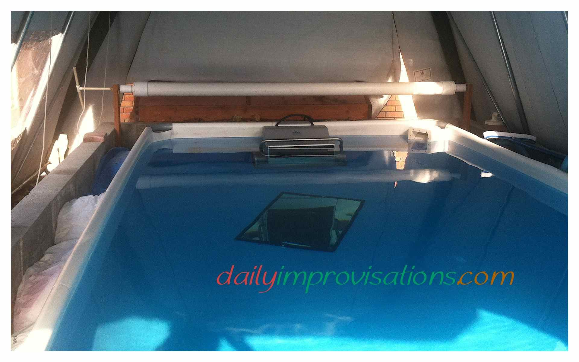 Jacuzzi Pool Covers Make A Diy Pvc Pipe Retractable Hand Crank Swimming Pool Cover