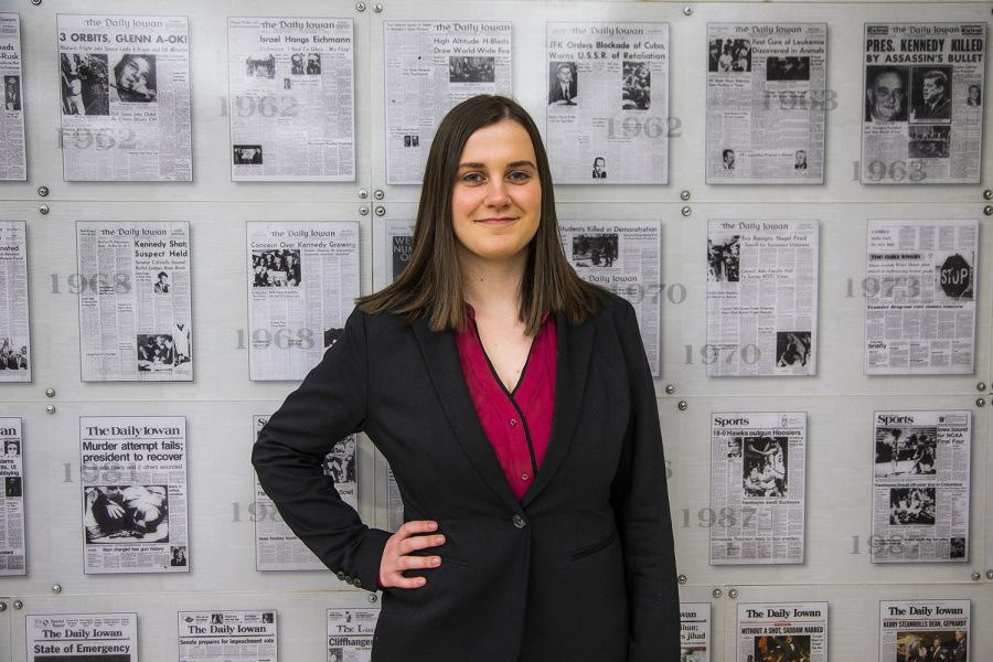 Marissa Payne appointed next DI editor-in-chief \u2013 The Daily Iowan