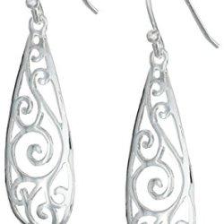Sterling-Silver-Filigree-Teardrop-Earrings-0