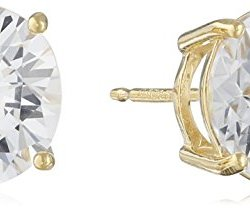 Sterling-Silver-Round-Cut-Cubic-Zirconia-Stud-Earrings-0