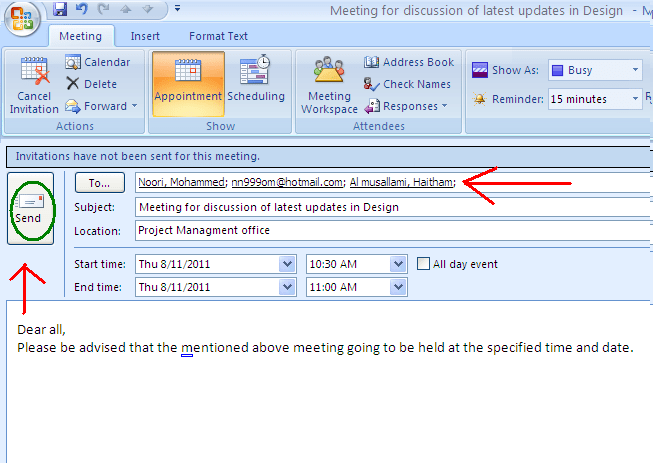 How To Send Meeting Invitation Via Outlook Daily Life Career