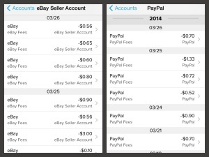 eBay and PayPal Fees