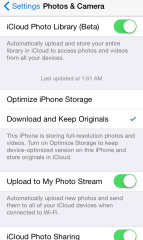 How To Make Camera Roll To Show All Photos on IOS 8 iPhone