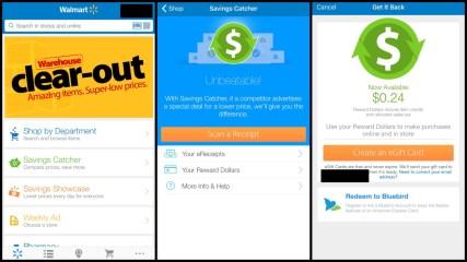 Get Cash Back at Walmart Using Their App