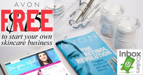 FREE to enroll as Avon Representative through Inbox Dollars