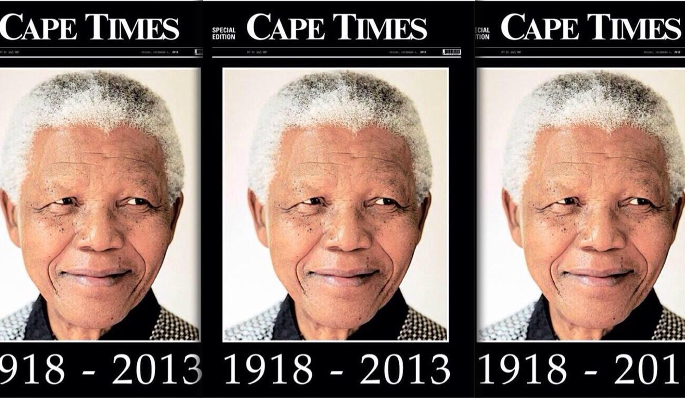 Thermometre Exterieur Geant Op Ed How We Made Newspaper History At The Cape Times