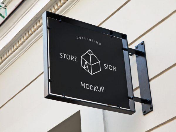 Free Signboard Mockup PSD Templates DailyMockup