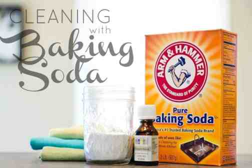 Cleaning with baking soda daily mom - Things never clean baking soda ...