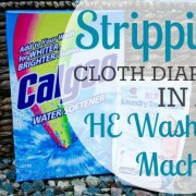 Stripping Cloth Diapers in an HE Washing Machine