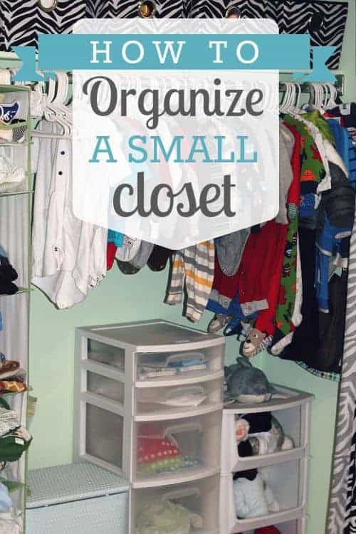 How to organize a small closet daily mom - Organize small space property ...
