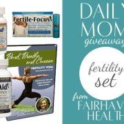 $125 Fertility Set Giveaway on DailyMom.com