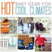hot baby gear for cool climates slideshow