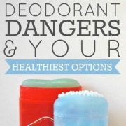 Deodorant Dangers And Your Healthiest Options