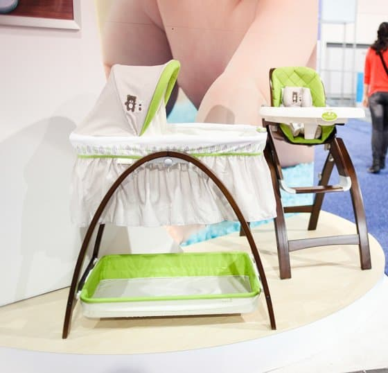 Summer Infant Bassinet and high chair
