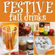 festive fall drinks